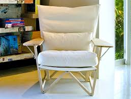 Used Armchair Reclaimed Furniture Gives Used Pieces A Second Chance