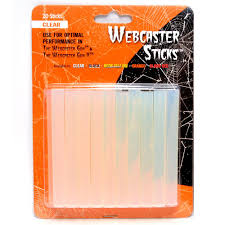electric chair spirit halloween halloween clear webcaster sticks pack of 20 99001 the home depot