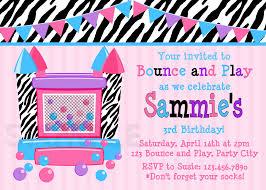 bounce house birthday invitations alanarasbach com
