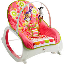 Baby Rocking Chair Fisher Price Infant To Toddler Rocker Floral Confetti Walmart Com