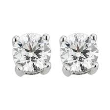 diamond stud earrings uk buy diamond earrings online fraser hart