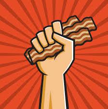 bacon ribbon world s bacon festival holy kaw