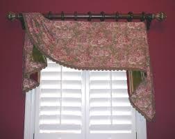 interior lavish valance patterns for window decorating idea