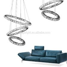 Small Crystal Pendant Lights by Hot Sell Modern Luxury Crystal Chandelier Led Round Circle Hanging