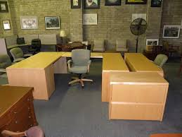 Executive Desk And Credenza U Shaped Executive Office Suite Desk With Bridge And Double