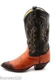 womens vintage cowboy boots size 9 tony lama mens vintage cowboy boots teju lizard wingtip two tone