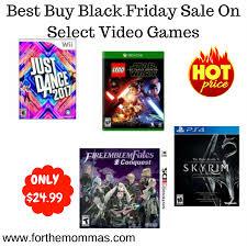 best deals on video games for black friday best buy black friday deal select video games only 24 99 ftm
