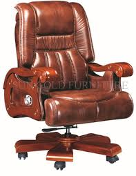 Black Leather Swivel Big Boss ChairCeo Desk ChairLuxury Office - Luxury office furniture