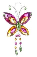 car charms butterfly ornaments from pursebling