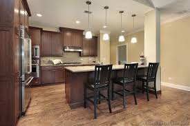 Mixed Wood Kitchen Cabinets 52 Dark Kitchens With Dark Wood And Black Kitchen Cabinets