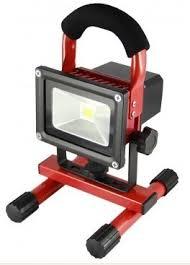 10w rechargeable flood light led portable rechargeable work light powerline rechargeable led