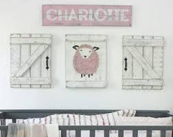 Sheep Nursery Decor Sheep Nursery Decor Etsy