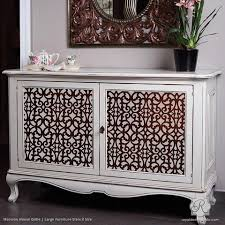painted furniture exotic trellis furniture stencils for diy painting royal design