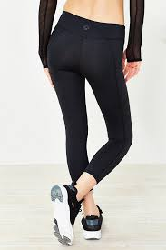 Without Walls Clothing by Without Walls Low Rise Etta Cropped Legging In Black Lyst
