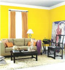 bedroom room colour combination bright orange wall paint ideas