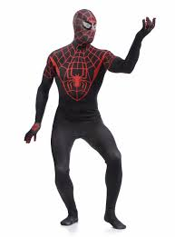 halloween full body suit aliexpress com buy high stretch black red spiderman suit