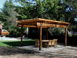 Modern Pergola Designs by Exterior Design Luxury Pergola Plans With Stone Flooring And Cozy