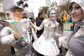 file carnival tuesday costumes robot silver bunny jpg