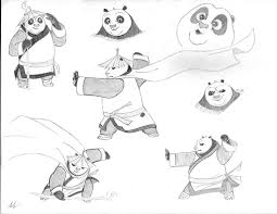kung fu panda 3 dragon warrior po practica by mega charizar on