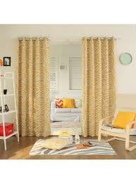 zebra printed room darkening grommet curtains