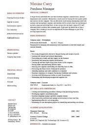 Purchasing Resume Doc 460595 Purchasing Manager Job Description U2013 Purchasing