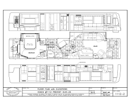 prevost floor plans 2008 prevost marathon xliidouble slide