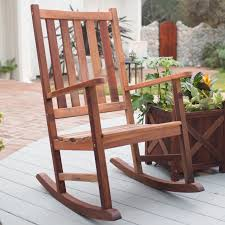 Wooden Rocking Chair Dimensions Belham Living Richmond Heavy Duty Outdoor Wooden Rocking Chair