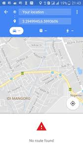 Google Maps For Android Android Start Google Maps For Navigation Not Working When Using