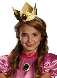 Princess Peach Halloween Costume Princess Peach Crown U0026 Amulet Super Mario Candy Apple Costumes