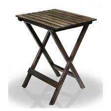 buy delta range solid wood outdoor folding table for garden patio
