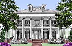 southern plantation style house plans plan 44055td classic revival with tour southern