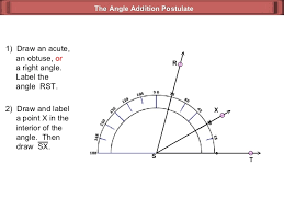 angle addition postulate geometry 3 3