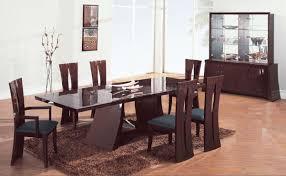 Dining Room Set Dining Table 5 Dining Set Black Contemporary Formal Dining