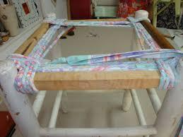 rempailler une chaise les nouvelles croix de symiote rempaillage de chaise en tissu