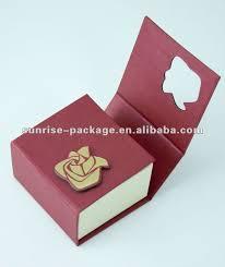 unique box unique and cheap custom logo printed jewelry ring box shop for