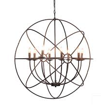 Atomic Chandelier Derince Chandelier Bassett Home Furnishings