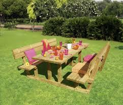 deco jardin a faire soi meme mobilier de jardin en palettes de bois meuble fabriqué en bois de