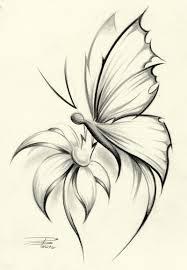 butterfly flower by davepinsker on deviantart inkme pinterest