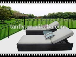 chaise pc outdoor patio synthetic rattan wicker 3 pc chaise lounge chair set