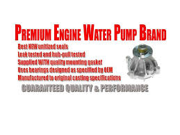 1991 jeep comanche specs and cherokee wagoneer comanche premier brand new water pump w gasket