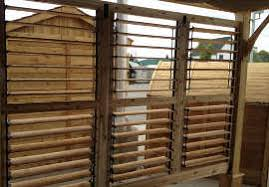 12 X 12 Pergola by Outdoor Living Today 12x12 Breeze Pergola Louvered Wall Panels