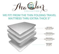 Dream On Me Portable Crib Mattress by Amazon Com Waterproof Baby Crib Mattress Protector Fitted