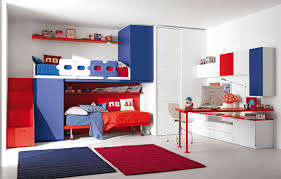 Blue Boys Bedroom Furniture Red And Blue Boys Room Home Design Ideas