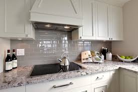 Grey Kitchen Backsplash Kitchen Cute Kitchen Backsplash Grey Subway Tile White Gray