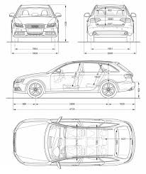 audi a4 length 2008 audi a4 avant 3 0 tdi quattro specifications and technical data