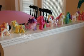 doodlecraft my little pony budget party and chocolates