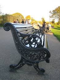iron park benches making a cast iron park bench prop agenda