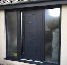 Exterior Back Doors Front And Back Doors Countrywide Windows Bridgwater