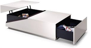 multipurpose table with storage best coffee tables ideas white modern table storage uk within decor