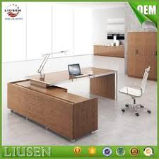Executive Desk Solid Wood High End Luxury Ceo Office Furniture Modern Practical Solid Wood